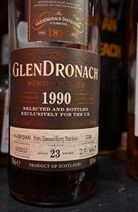 Glendronach 23, 1990