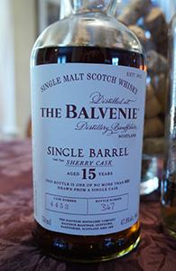 Balvenie 15, Sherry