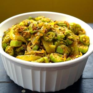 Bhindi-fry