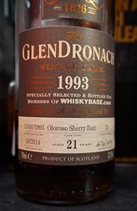 Glendronach 21, 1993