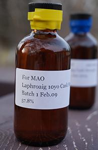 Laphroaig 10 CS, Batch 001