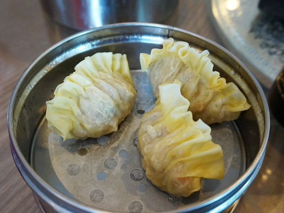 ...like these shark fin dumplings, would have been much better if fresh.