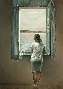 Dali: Figure at a Window