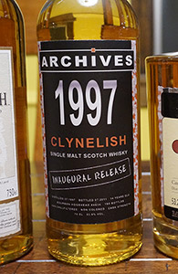 Clynelish 14, Archives