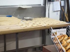 Shaped bagels.