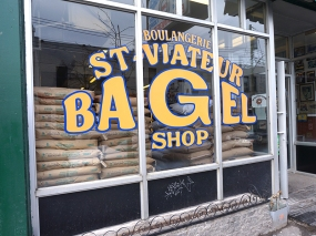 At St. Viateur Bagel Shop