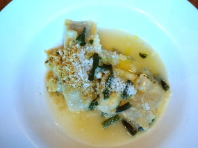 Rabbit & Nettle Agnolotti