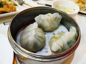 As were these plump Chaozhou/Chiu Chow dumplings which spill out peanuts, greens, water chestnut and pork when you bite into them.