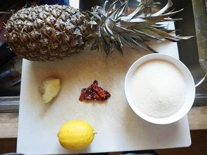 Pineapple Chutney: Ingredients