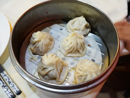 As with all dim sum houses these days, China Red also has mini soup dumplings; and, as always, I was a little disappointed with them.