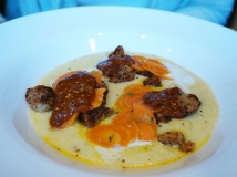 Hominy Grits & Sweetbreads