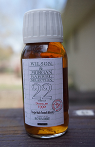 Bowmore 22, 1990 (Wilson & Morgan)