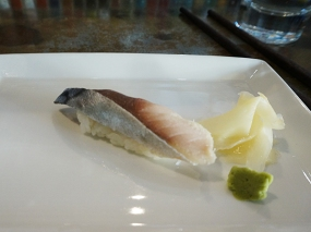 As was the mackerel.
