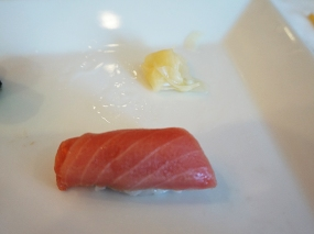 This was yellowfin chutoro, I believe and it was quite nice too.