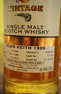 Glen Keith 19, 1995, Signatory