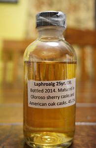 Laphroaig 25, 2014 Release