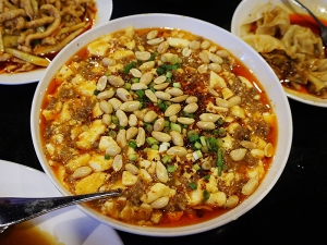 Grand Szechuan: Beef and Tofu with Peanuts