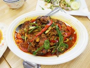 Bangkok Thai Deli: Stir-Fried Spicy Catfish