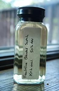 Faultline Blended Scotch, K&L