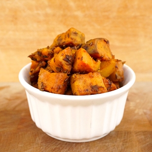 Tangy Sweet Potatoes with Cumin