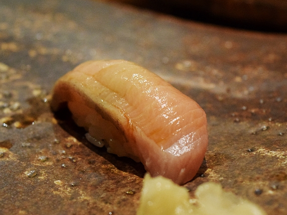 The wild buri or mature yellowtail is caught in the winter and is always a treat when we can get it. This was a highlight.