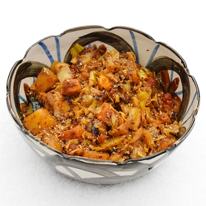 Cabbage with Sweet Potatoes