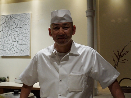 Chef Yoshi Inoue.