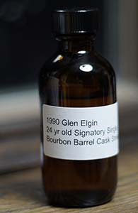 Glen Elgin 24, 1990 (Signatory for K&L)