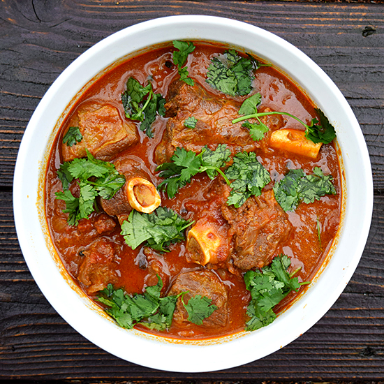 Mutton Curry with Tomatoes