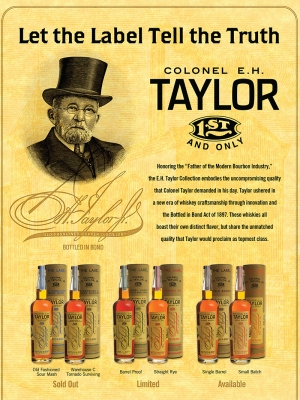 E.H. Taylor: Buffalo Trace Sell Sheet