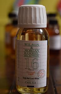Caol Ila 16, 1998, Wilson & Morgan