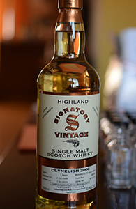 Clynelish 7, 2008; Signatory for Binny's