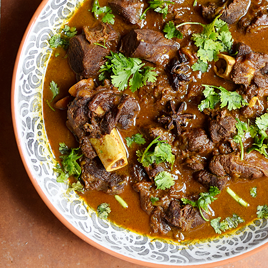 Mutton Curry with Star Anise and Vinegar