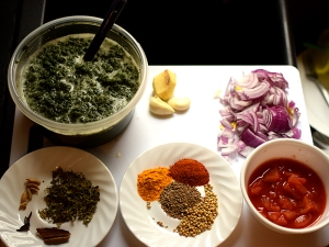 Palak Posole, Ingredients