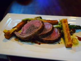 Meritage: Stuffed Saddle of Lamb