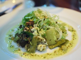 Meritage: Marinated Leek Salad