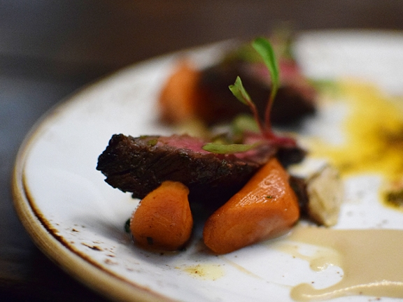 Heirloom: Bavette Steak Close-Up