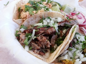 The carnitas however was excellent