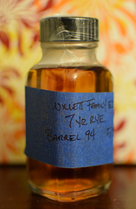 Willett Family Estate Rye, 7 Year Old, Barrel 94