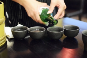 It's a bad idea to run out of sake.