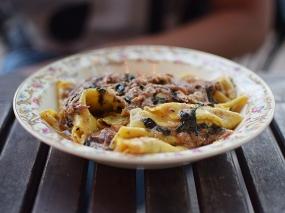 Grand Cafe: Mustard Maltagliati