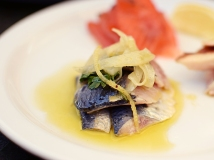 ...the oil-marinated sardines (excellent)...