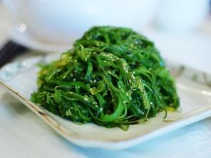 "Vinegary seaweed ""salad"". Very good indeed."