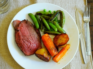 Roast Beef and Veg.