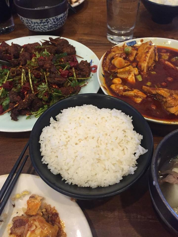 Steamed Rice at Szechuan Impression