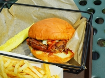 Sandcastle: BBQ Pork Sandwich