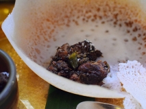 Hoppers: Close-up with Appam