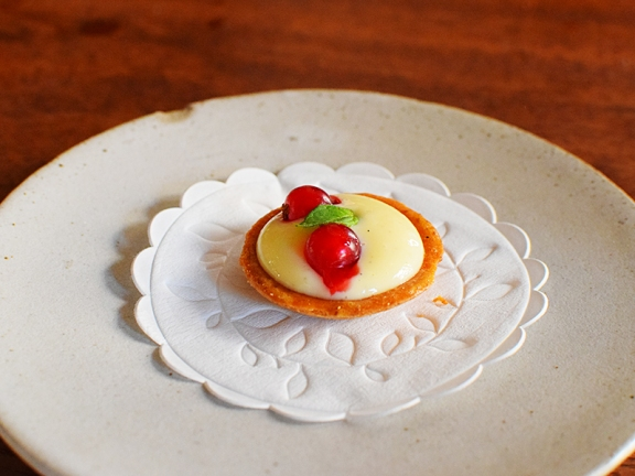 The Clove Club: Fruit Tart Thingy