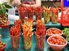 Hmong Village: More Peppers
