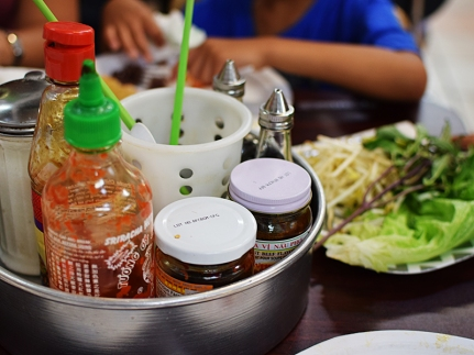 Hmong Village: Pho Fixings